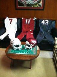 Possible New Arkansas Football Uniforms?