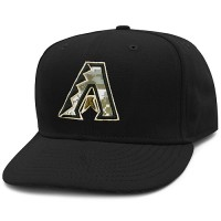 Arizona Diamondbacks Stars and Stripes Camouflage Cap 2012