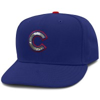 Chicago Cubs Stars and Stripes Camouflage Cap 2012