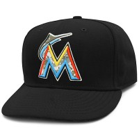 Miami Marlins Stars and Stripes Camouflage Cap 2012