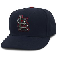 St Louis Cardinals Stars and Stripes Camouflage Cap 2012