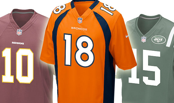 Peyton, Tebow At Top of NFL Jersey Sales List