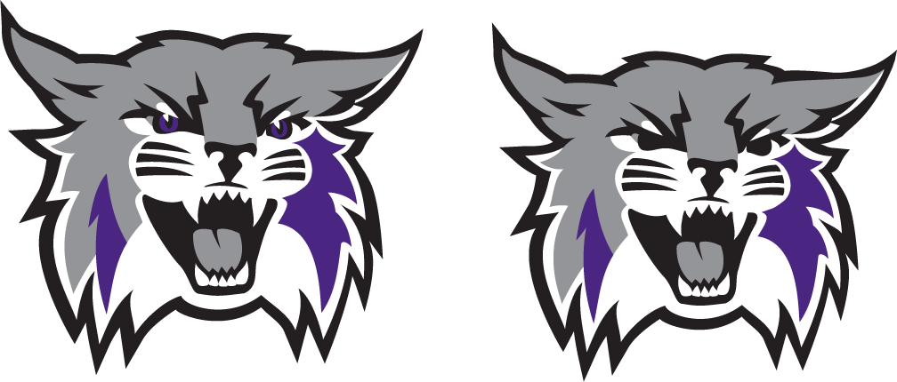 Weber State New Logo Cat Heads