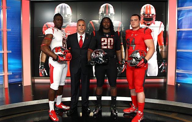Rutgers New Uniforms With Distressing – PICS