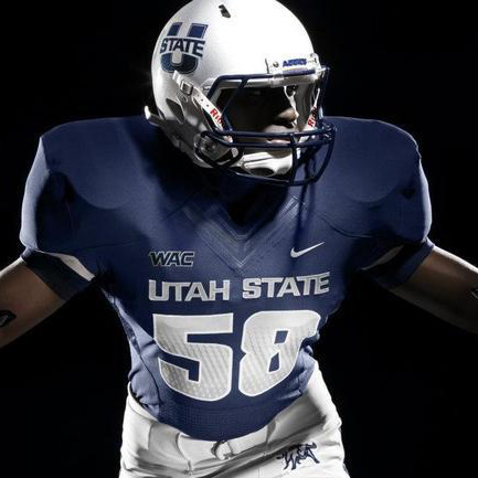 Utah State Presents New Football Jerseys for 2012