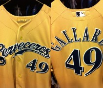 Milwaukee Brewers Spanish Jerseys Cerveceros 2012