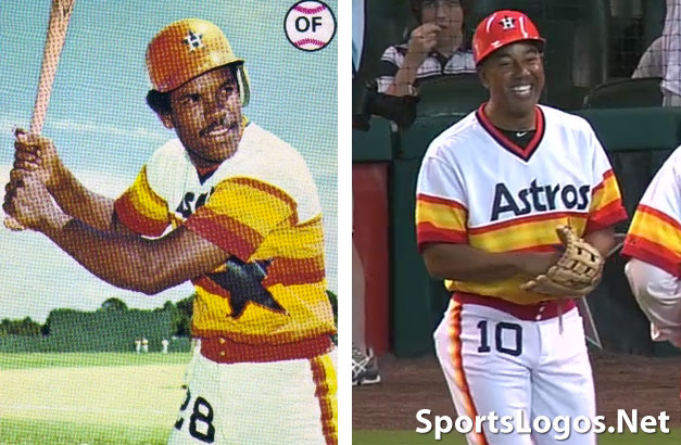 best service 374bd ef7ca Comparing Houston Astros 1978 uniform with 2012 throwback ...