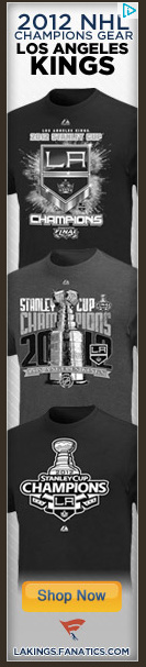 Website Ad Touts LA Kings as Stanley Cup Champs