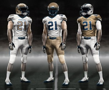 Georgia Tech new uniforms jerseys jersey football concepts mockups