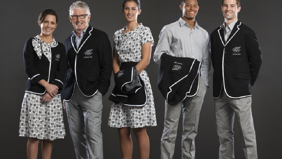 New Zealand Unveils 2012 Olympic Uniforms