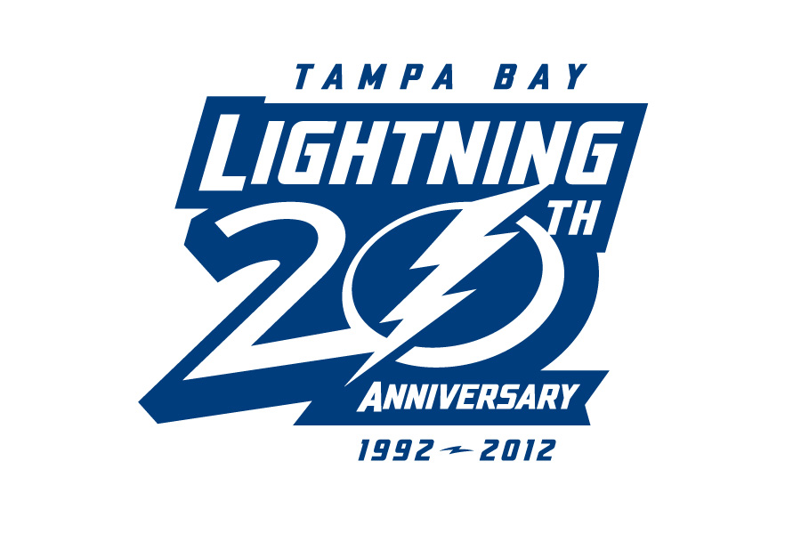 Tampa Bay Lightning Unveil 20th Anniversary Logo