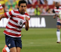 USMNT New Jersey Blue Numbers 2012