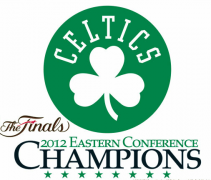 2012 Boston Celtics NBA Finals Eastern Conference Champions Logo