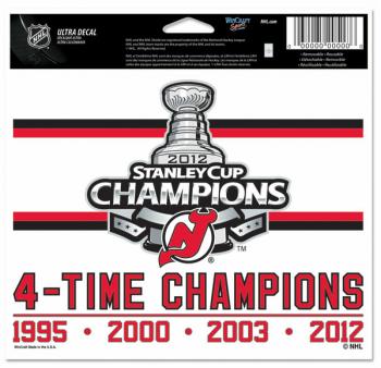 New Jersey Devils 2012 Stanley Cup Champions Merchandise