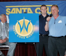 Santa Cruz Warriors Unveil Logo, 2012
