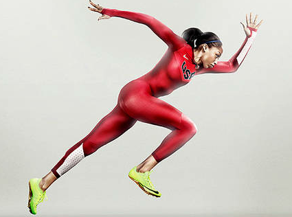 Nike Unveils Faster US Track Unis for 2012 Olympics