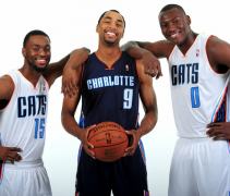 Charlotte Bobcats New Uniforms 2012-13