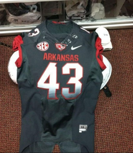 Arkansas Uniforms Almost Certainly Real – New Photo