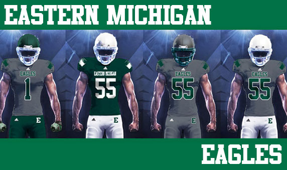 Eastern Michigan Announces a Mind-Boggling 20 Different New Uniform Looks