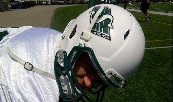 Saskatchewan Roughriders to Wear White Helmets Friday