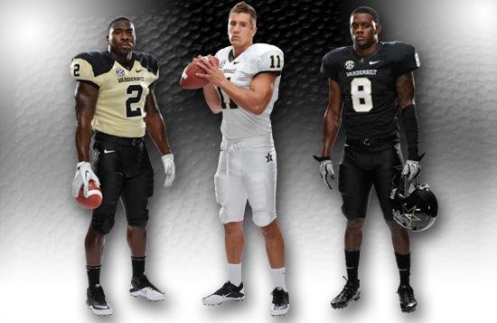 Vanderbilt Shows Off Their New Uniform Combinations