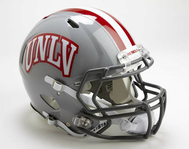 UNLV changing up their helmet design