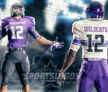 northwestern university new uniforms uni under armour wildcats feature