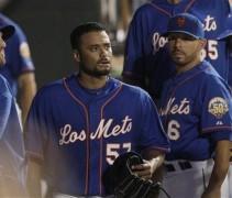 NY Mets New York Mets Los Mets Blue dugout