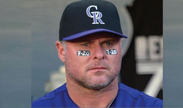 Rockies Players Honour Theatre Shooting Victims