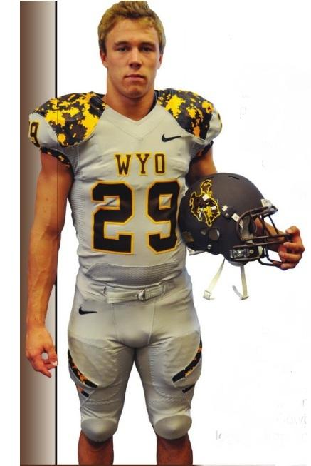 Wyoming Adds Yet Another Uniform Option: Light Grey, Digital Camo, Matte Brown Helmet