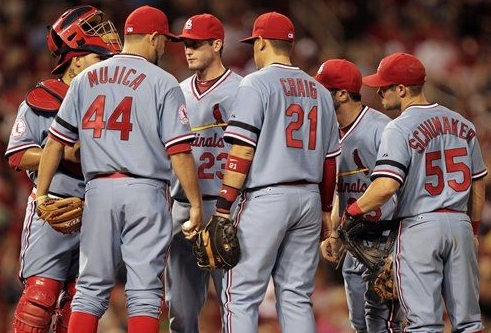 Cardinals Look Absolutely Beautiful in Last Night's Throwbacks