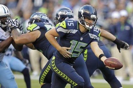 Pics Seattle Seahawks New Uniform Makes Debut Sportslogos Net News