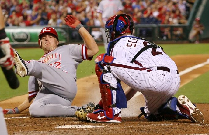 Pics: Phillies and Reds Turn Back to 1991