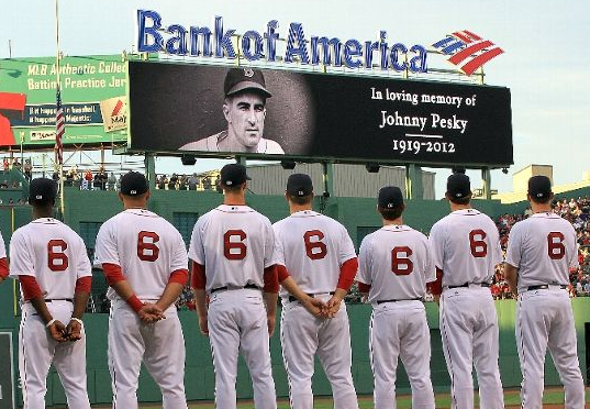 Red Sox, Angels Pay Tribute to Pesky