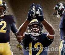 Notre Dame Shamrock Series new uniforms featured