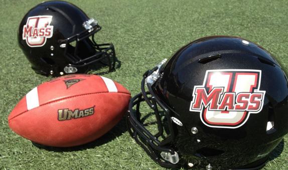 UMass Welcomes Itself to FBS With New Black Helmet, Tweaked Unis