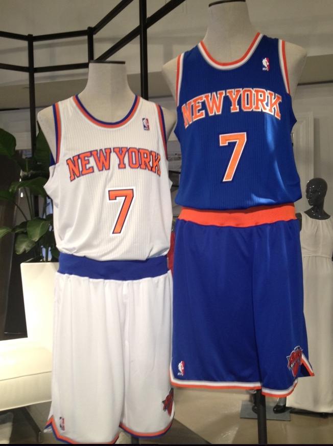 New York Knicks Unveil New Uniforms