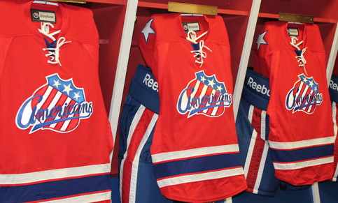 Rochester Americans Bring Back Red for Third Jersey