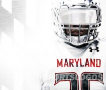 Maryland Terrapins White Ops new uniforms - player
