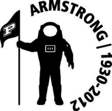 Purdue to Honour Neil Armstrong with Helmet Decal