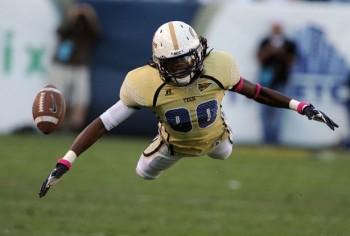 SportsLogos.Net Best/Worst 2012 college football NCAA worst uniform awards - Georgia Tech goldfly