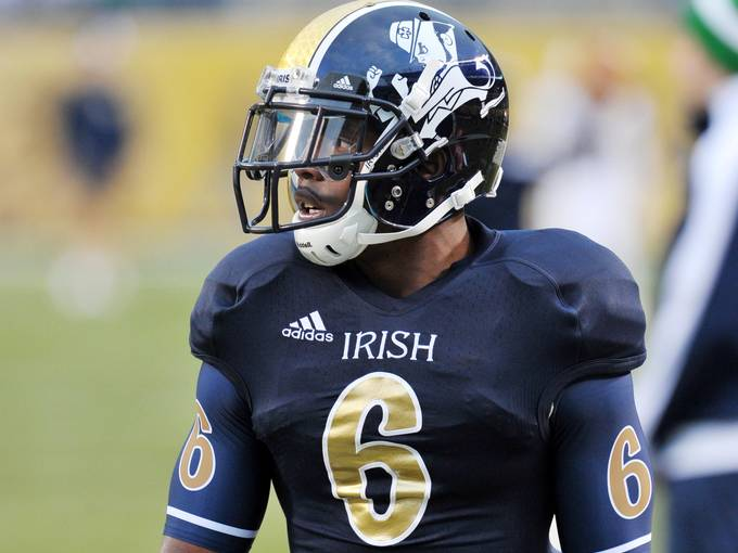 6d78bbe4f SportsLogos.Net Best Worst 2012 college football NCAA worst uniform awards  - Norte Dame
