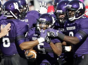 SportsLogos.Net Best/Worst 2012 college football NCAA best uniform - Northwestern Purple