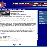 July 22, 2003 - July 4, 2004: First attempt at a News aspect