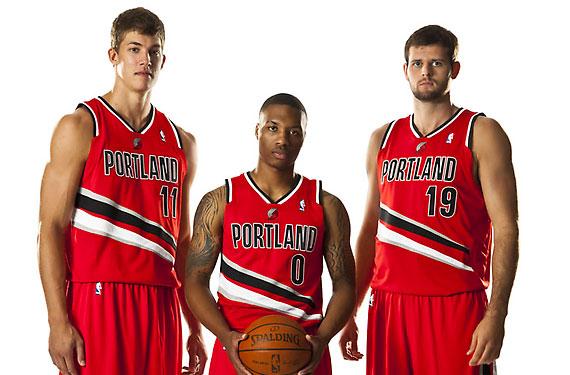 "New Portland TrailBlazers Alt Represents ""Speed"", ""Agressive Competition"""