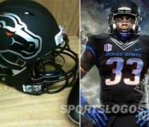 Boise State black black-out nike broncos - feature