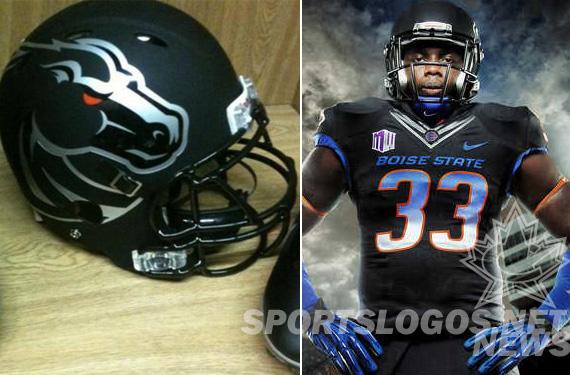 Boise St Introduces Black Uniform Despite No Black in Logo