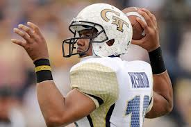SportsLogos.Net Best/Worst 2012 college football NCAA worst uniform awards - Georgia Tech QB