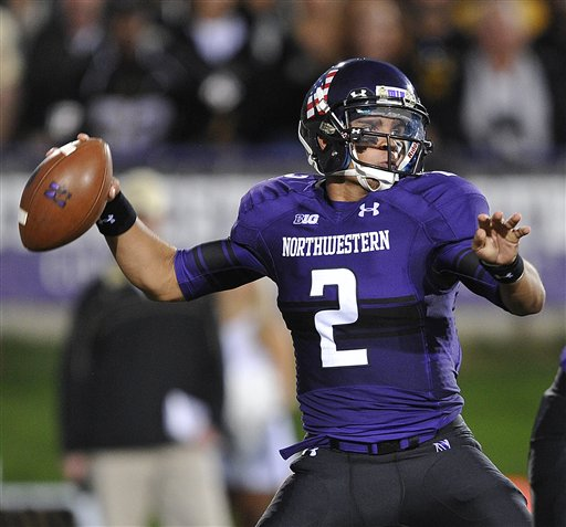 10c49c52e Net Best Worst 2012 college football NCAA best uniform - Northwestern  purple black