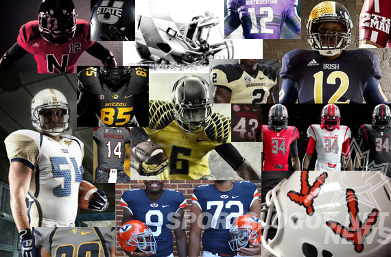 Time To Give You Your Say in the Best, Worst Unis in 2012 NCAA Football